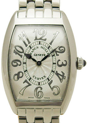 Franck Muller Silver Stainless Steel 1752QZ Women's Wristwatch 24MM