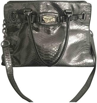 Michael Kors Sutton Metallic Leather Handbags