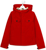 Burberry hooded jacket - kids - Cotton/Polyester - 14 yrs