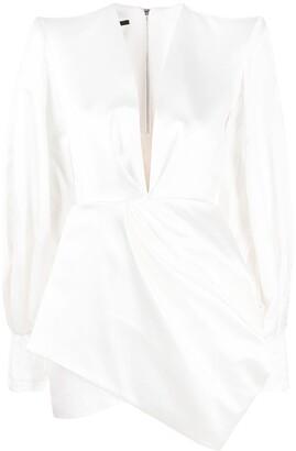 Alex Perry Drape-Detail Dress
