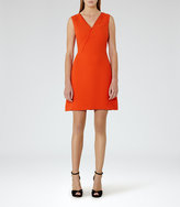 Reiss Gianna Lace-Trim Shift Dress