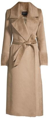 Sentaler Notch Collar Wrap Coat