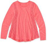 Arizona Girls Long Sleeve T-Shirt-Big Kid