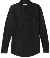 Saint Laurent - Slim-fit Twill Shirt