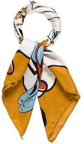 Marc Jacobs Silk Printed Scarf