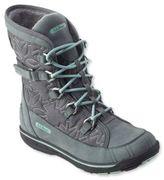 L.L. Bean Womens Snow Peak Waterproof Snow Boots, Mid
