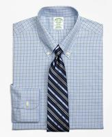Brooks Brothers Non-Iron Milano Fit Overcheck Tattersall Dress Shirt