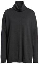 Eileen Fisher Women's Merino Wool Boxy Turtleneck Sweater