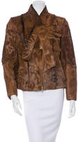 Miu Miu Long Sleeve Broad Tail Coat