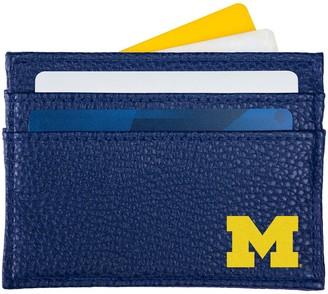 Michigan Wolverines Logo Card Holder