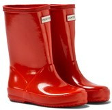 Hunter Red Kid ́s First Gloss Wellington Boots