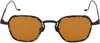 Jacques Marie Mage Wyatt Square Frame Sunglasses