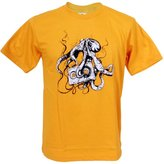 Tshirtmystyle- Octopus Love Music tape old school Man T-shirt