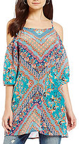 Tolani Fara Cold Shoulder Tunic