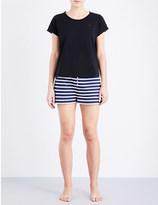 Tommy Hilfiger Nautical striped cotton-jersey pyjama set