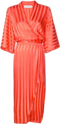 Mason by Michelle Mason Kimono Sleeve Dress