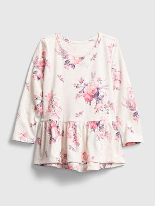 Gap Toddler Mix and Match Peplum Shirt