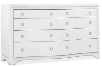 Hooker Furniture Romance 8 Drawer Double Dresser with Mirror Color: Brown