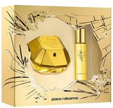 Paco Rabanne Lady Million by 2 Piece Set Includes: 1.7 oz Eau de Parfum Spray + 0.51 oz Eau de Parfum Travel Spray