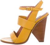 Derek Lam Leather Cage Sandals