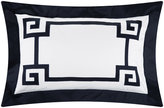 Gianfranco Ferre Greek Key Pillowcases - Set of 2 - Dark Navy Blue
