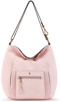 Elliott Lucca Pale Pink Vivien Leather Hobo