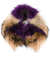 Mr & Mrs Italy - furry scarf - women - Racoon Fur - One Size