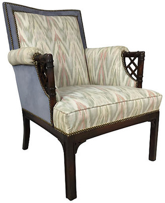 One Kings Lane Vintage Chinese Chippendale Faux-Bamboo Chair - Von Meyer Ltd.