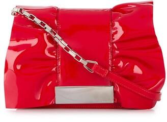 Sergio Rossi Ruffle Tote Bag
