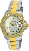 Invicta Women's 'Sea Base' Quartz Stainless Steel Casual Watch, Color:Two Tone (Model: 20366)