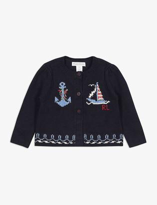 Ralph Lauren Nautical cotton cardigan 3-24 months