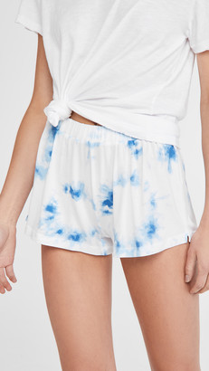 Stripe & Stare Cali Tie Dye Bed Shorts
