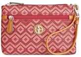 Giani Bernini Graphic Signature Wristlet, Only at Macy's