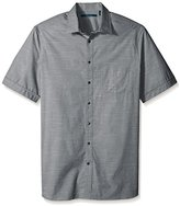 Perry Ellis Men's Big and Tall Stripe Texture Shirt
