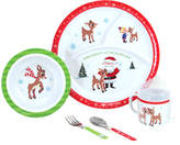 Kids Preferred Rudolph Mealtime Set