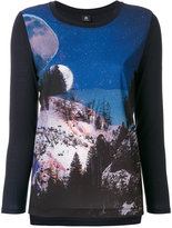 Paul Smith graphic printed long sleeve
