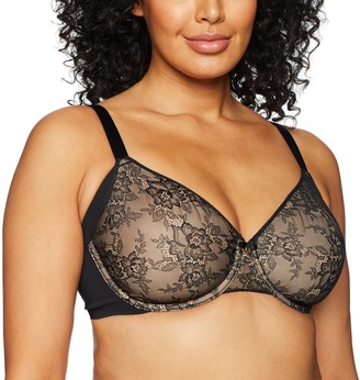 Couture Women's Plus-Size Flawless LACE Underwire Bra Bra