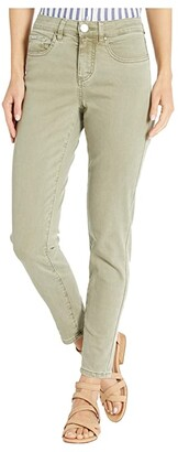 FDJ French Dressing Jeans Solid Cool Twill Olivia Slim Ankle in Willow (Willow) Women's Jeans