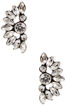 Amrita Singh Crescent Crystal Statement Earrings