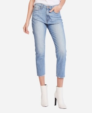 Flying Monkey Super High Rise Light Wash Mom Jeans