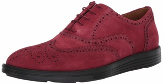 Driver Club Usa Mens Leather Made in Brazil EVA Lightweight Oxford Wingtip