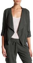 UNIONBAY Adaline Linen Blend Jacket (Petite)