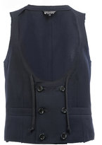 Comme des Garcons double-breasted waistcoat - men - Wool - M