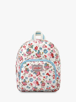 Cath Kidston Cath Kids Children's Fairies Mini Rucksack, Oyster Shell