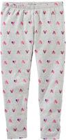 Osh Kosh TLC Heart Print Leggings