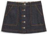 Burberry Girl's Sarie Denim Skirt
