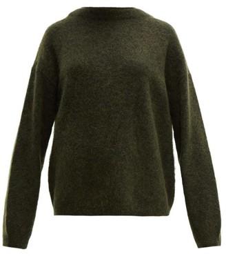 Acne Studios Dramatic Oversized Knit Sweater - Womens - Khaki