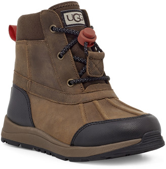 UGG Boy's Turlock Suede & Leather Toggle Waterproof Boots, Toddler/Kids