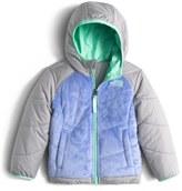 The North Face 'Perseus' Water Repellent Heatseeker TM Insulated Hooded Reversible Jacket (Toddler Girls & Little Girls)