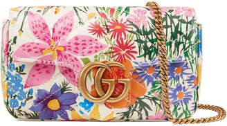 Gucci Online Exclusive Ken Scott print GG Marmont super mini bag